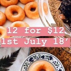 Krispy Kreme: Enjoy 12 Original Glazed Doughnuts for $12 at Great World City & Northpoint City
