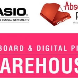 Absolute Piano: Casio Warehouse Sale with Up to 80% OFF Keyboards & Digital Pianos