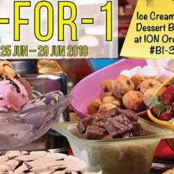 Swensen's: Weekly App Offer – Enjoy 1-for-1 Ice Cream & Dessert Buffet at ION Orchard!