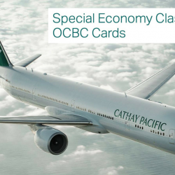 Cathay Pacific: Special Fares with OCBC Cards from SGD228 All-In to Hong Kong, Taiwan, Japan, USA & More!