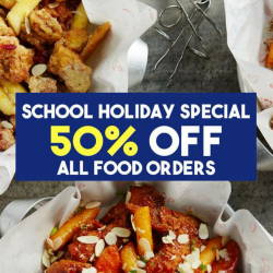 Chir Chir Singapore: School Holiday Special - 50% OFF All Food Orders!