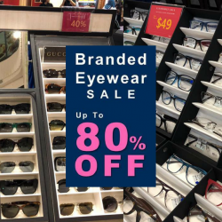 Better Vision: Atrium Roadshow at Waterway Point with Up to 80% OFF Branded Eyewear
