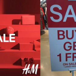H&M Singapore: Buy 3 Get 1 FREE on All Sale Items!