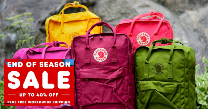 My Kanken Bag: End of Season Sale with Up to 40% OFF Kankens
