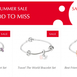PANDORA: More Sale Items Added to Summer Sale for Up to 50% OFF In Stores & Online!