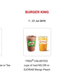 SAFRA: FREE Treats at Ya Kun, Burger King & Swensen's for Members!