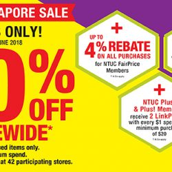 Unity Pharmacy: Great Singapore Sale with 20% OFF Storewide + Up to 4% Rebate for NTUC FairPrice Members!