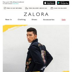 [Zalora] 📢 You have 1 day left: EXTRA 40% off!