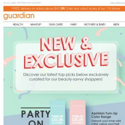 [Guardian] 🎉 Everything NEW & EXCLUSIVE for you is here!