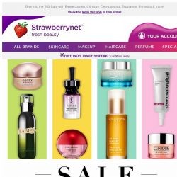 [StrawberryNet] , Extra 10% Off All Skincare Sitewide!