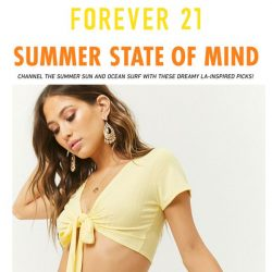 [FOREVER 21] SEAS the Day!