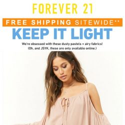 [FOREVER 21] It's Online Only!