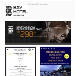 [Bay Hotel] What's going on in July at Bay