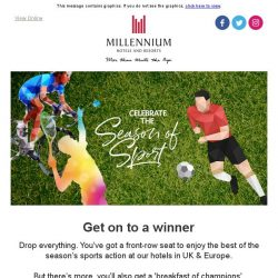 [Hotels.com] Enjoy the best of the season's sports ⚽️⛳️🏅
