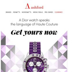 [Ashford] Haute horlogerie watches