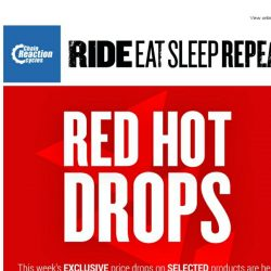[Chain Reaction Cycles] Exclusive Red Hot Drops! New Lines Added 🔥