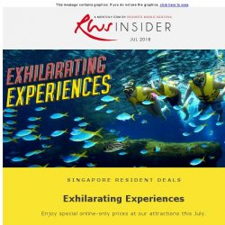 [Resorts World Sentosa] Exhilarating Experiences or Infinite Fear Awaits You This July
