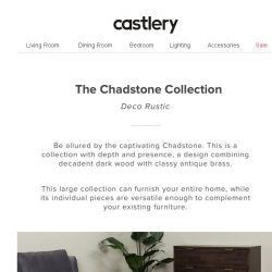 [Castlery] 1920s inspired - The Chadstone Collection