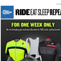 [Chain Reaction Cycles] 30% Off Fizik Road and MTB Footwear? 25% Off Sportful Clothing? Yes, please!