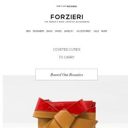 [Forzieri] Delightfully Darling Must-Haves
