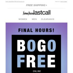 [Last Call] BRACE YOURSELF for BOGO >> Amazing!