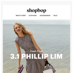 [Shopbop] Nautical and nice: the latest from 3.1 Phillip Lim