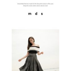 [MDS] Summer in Motion | New Arrivals just launched