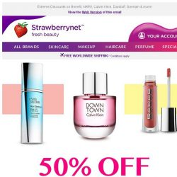 [StrawberryNet] Jump on 50% Off Outlet Sale! Prices from US$8!