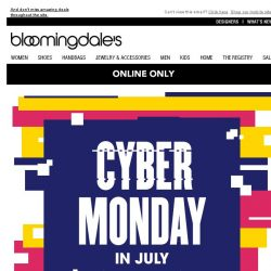 [Bloomingdales] Ends today! Take 25% off