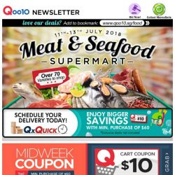 [Qoo10] WOW Meat & Seafood Supermart! NEW Sashimi Shrimp, Scallops, Beef Steak or Wingsticks Bundle! Up to 60% Everything Now!