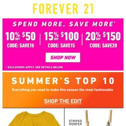 [FOREVER 21] Can you handle this...