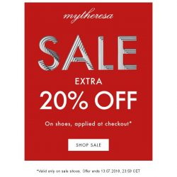 [mytheresa] Sale: extra 20% off shoes, for 48h only