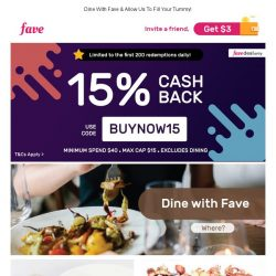 [Fave] 15% Cashback Today With Bakerzin's $40 Cash Voucher for French Cuisine and Artisan Desserts
