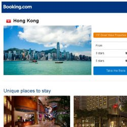 [Booking.com] Deals in Hong Kong from S$ 36