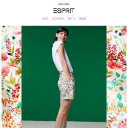 [Esprit] The prettiest shorts for Summer!