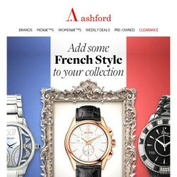 [Ashford] Indulge yourself with French luxury
