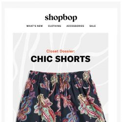 [Shopbop] 4 chic pairs of shorts (try 'em all!)