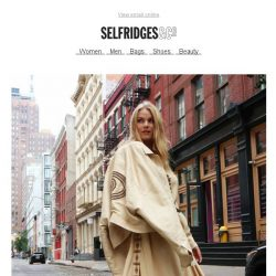 [Selfridges & Co] Show that humidity who's boss