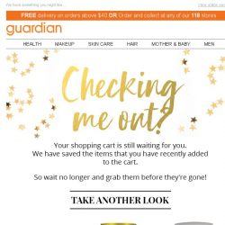 [Guardian] Stop browsing, start shopping!
