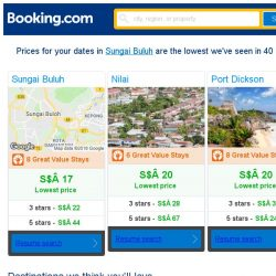[Booking.com] Prices in Sungai Buluh dropped again – act now and save more!