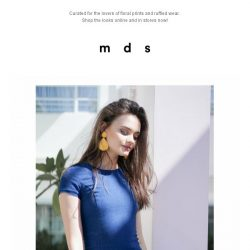 [MDS] Dear Summer | New Arrivals just launched online and in stores