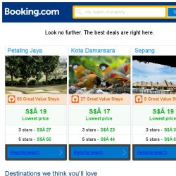 [Booking.com] Petaling Jaya, Kota Damansara, or Sepang? Get great deals, wherever you want to go