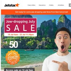 [Jetstar] 😲 Still can't get over the Football Frenzy? Here's another piece of jaw-dropping news!