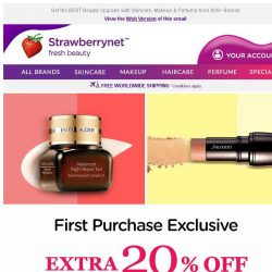 [StrawberryNet] , this Extra 20% Off + Free Shipping is for VIPs ONLY!