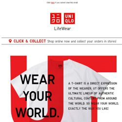 [UNIQLO Singapore] Hey guys, it's time for UT.