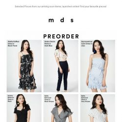 [MDS] Most Wanted | New Styles Arriving Soon!