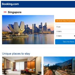 [Booking.com] Deals in Singapore from S$ 36