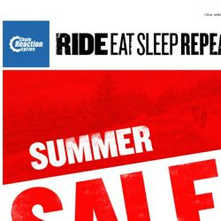 [Chain Reaction Cycles] Summer Sale Starts Right NOW!