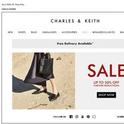 [Charles & Keith] CHARLES & KEITH | End-of-Season Sale – Ending Soon