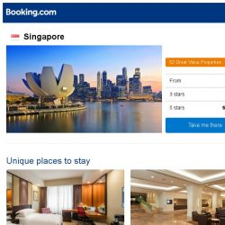 [Booking.com] Deals in Singapore from S$ 40